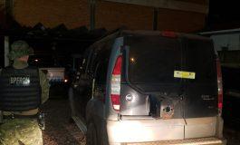 BPFron apreende veículo com cigarros durante Operação Hórus em Mercedes