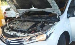 Polícia Rodoviária Federal apreende, em Cascavel, veículo de estelionatários preparado contrabando