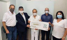 HOESP/Hospital Bom Jesus recebe a primeira doação para construção da sua sede própria