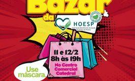 Bazar da HOESP/Hospital Bom Jesus com itens da Receita Federal ocorre hoje e amanhã