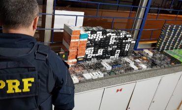 PRF apreende 408 cigarros eletrônicos de maconha líquida no Paraná
