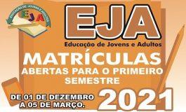EJA está com matrículas abertas na Rede Municipal em Cascavel