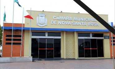 Presidente do Legislativo de Nova Santa Rosa decreta luto oficial de 3 dias pelo falecimento da diretora da Câmara