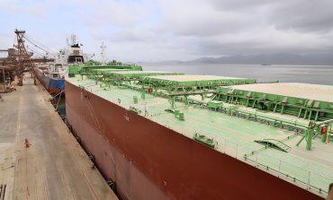 Porto bate recorde e faz maior embarque de farelo de soja em um único navio